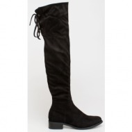 gaily over the knee boot, μαύρο - 74597/1