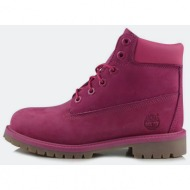 timberland 6 in premium wp boot pink (ca14yq)