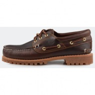 timberland trad hs 3 eye lug br brown (c30003)