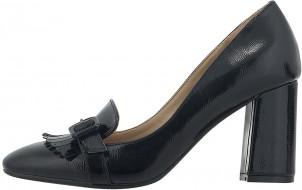 γυναικειο ψηλοτακουνο παπουτσι σε μαυρο χρωμα