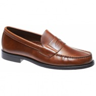 5c9d56f4c05 heritage penny ανδρικα καφε δερματινα loafers