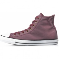 converse chuck taylor all star color shift twill hi 155377c μπορντό