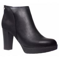 fashion icon γυναικεία παπούτσια μποτάκια f24-2540 μαύρο
