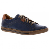 fratelli petridi - sneakers - μπλε - m1558 ανδρ.υποδημα