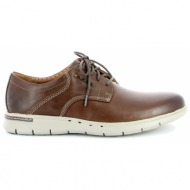 clarks - casual - καφε - unbyner lane ανδρ.υποδημα