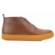 fred perry sneaker hawley mid leather - ταμπα/915 (b2131)
