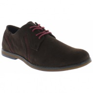moza-x ανδρικό casual b240930 καφέ - brown - b240930 d. brown-brown-40/4/207/79