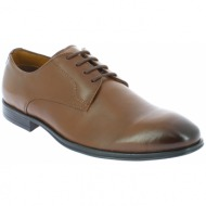 iqshoes ανδρικό μοκασίνι 3942601 καφέ - brown - 3.942601 brown-brown-40/4/207/79