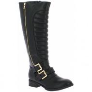 iqshoes γυναικεία μπότα 2878125 μαύρο - black - 2.878125 black-black-36/4/204/81