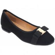 iqshoes γυναικεία μπαλαρίνα kdr433 μαύρο - black - kdr433 black -iqshoes-black-36/4/204/81