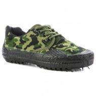 στρατιωτικά yφασμάτινα δετά παπούτσια.