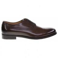 no. 42.5 καφέ δερμάτινα παπούτσια