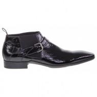 νο. 42 μαύρα δερμάτινα παπούτσια