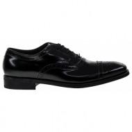 no. 39 μαύρα δερμάτινα παπούτσια