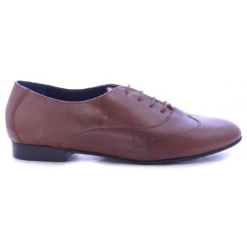 Παπούτσι καφέ δερμάτινα oxfords « opo.gr 105f635076a