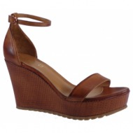 fardoulis shoes γυναικείες πλατφόρμες πέδιλα 26077 ταμπά δέρμα e8cece0d724