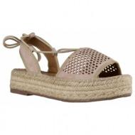 fashion icon γυναικεία παπούτσια πέδιλα f33-05013 μπεζ