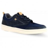 56b5b3b0335 ανδρικά δερμάτινα sneakers wrangler wm91001a - μπλε