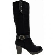 mariamare μπότες black (61909)