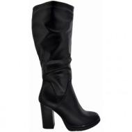 8148ace2497 μπότες ψηλοτάκουνες la coquette black (tw-b17005-11)