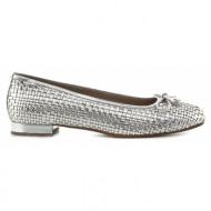 γυναικεία παπούτσια kαλογήρου private label-δέρμα σεβρώ πλεκτό