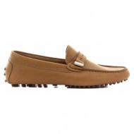 ανδρικά παπούτσια haralas-δέρμα τελατίνι γκοφρέ