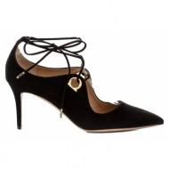 γυναικεία παπούτσια salvatore ferragamo-δέρμα καστόρι