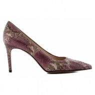 γυναικεία παπούτσια kαλογήρου private label-δέρμα φίδι