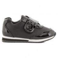 παιδικά παπούτσια michael michael kors-δέρμα τελατίνι και συνθετικό λουστρίνι