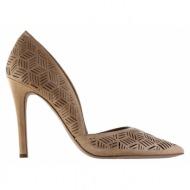 γυναικεία παπούτσια jessica simpson-δέρμα σεβρώ
