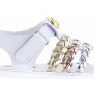 παιδικά παπούτσια michael michael kors-δέρμα τελατίνι & συνθετ. τελατίνι μεταλι