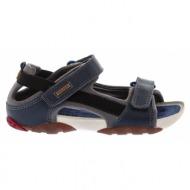 παιδικά παπούτσια camper-ύφασμα και δέρμα τελατίνι