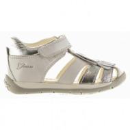 παιδικά παπούτσια geox-δέρμα τελατίνι μεταλιζέ