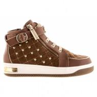 παιδικά παπούτσια michael michael kors-δέρμα τελατίνι, δέρμα καστόρι & τρουκς