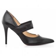 γυναικεία παπούτσια kαλογήρου private label-δέρμα σεβρώ και δέρμα νάπα