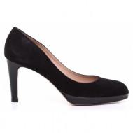 γυναικεία παπούτσια kαλογήρου private label-δέρμα καστόρι και δέρμα λουστρίνι