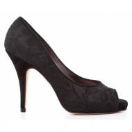 γυναικεία παπούτσια kαλογήρου private label-δαντέλα