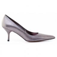 γυναικεία παπούτσια kαλογήρου private label-μαλακό δέρμα νάπα μεταλλιζέ