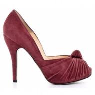 γυναικεία παπούτσια feng shoe-δέρμα καστόρι