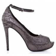 γυναικεία παπούτσια rodo-μαλακό δέρμα νάπα μεταλλιζέ