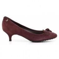 γυναικεία παπούτσια car shoe-δέρμα καστόρι