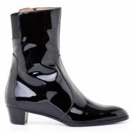 μπότες kαλογήρου private label-δέρμα λουστρίνι