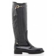 μπότες feng shoe-δέρμα τελατίνι και συνθετικό