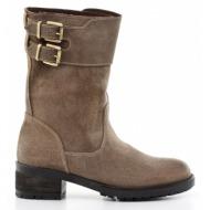 μπότες feng shoe-δέρμα τελατίνι vintage