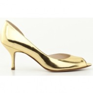 γυναικεία παπούτσια kαλογήρου private label-δέρμα σεβρώ