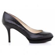 γυναικεία παπούτσια nine west-δέρμα κροκό
