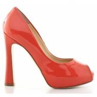 γυναικεία παπούτσια feng shoe-δέρμα λουστρίνι