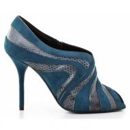 γυναικεία παπούτσια dolce & gabbana-δέρμα καστόρι και δέρμα φίδι