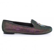 γυναικεία παπούτσια tory burch-ύφασμα μεταλιζέ