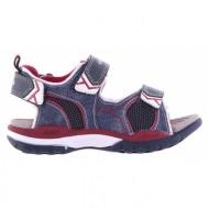 παιδικά παπούτσια geox-ύφασμα κανβάς και ύφασμα mesh